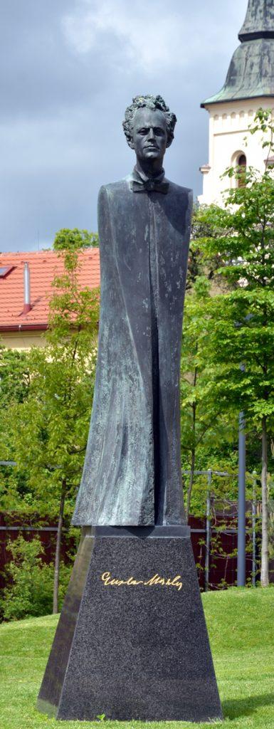 Pomník Gustava Mahlera