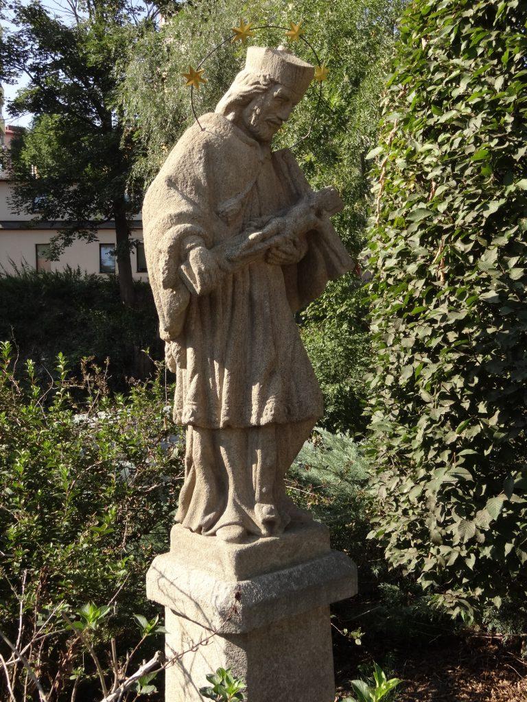 Socha svatého Jana Nepomuckého v Jihlavě